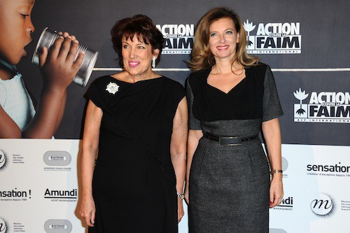 Photos : Joyce Jonathan et Valérie Trierweiler : réunies à la même soirée, elles s'évitent pour prendre la pose ?