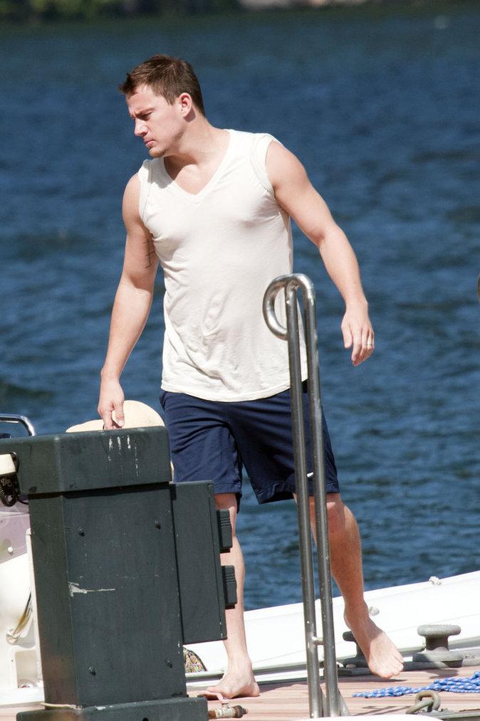 Channing Tatum part en vacances avec sa femme