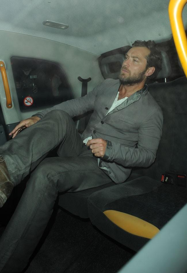 Jude Law le 20 septembre 2012 à Londres