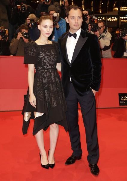 Jude Law et Rooney Mara, Berlin, 12 février 2013
