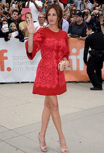 Julia Roberts à Toronto le 9 septembre 2013