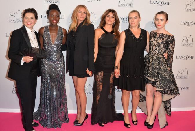 Lupita Nyong'o, Isabella Rossellini, Julia Roberts, Penélope Cruz, Lily Collins et Kate Winslet le 7 juillet 2015