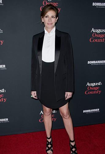 Julia Roberts à Los Angeles le 16 décembre 2013