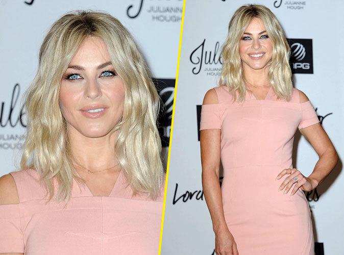 Julianne Hough : fessier bombé, robe rose poudré… elle est sexy comme jamais !