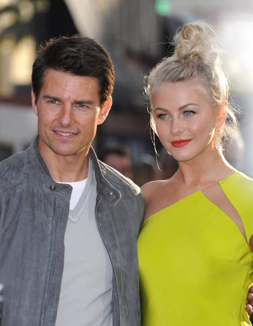 Tom Cruise et Julianne Hough lors de la première du film Rock of Ages à Los Angeles, le 8 juin 2012.