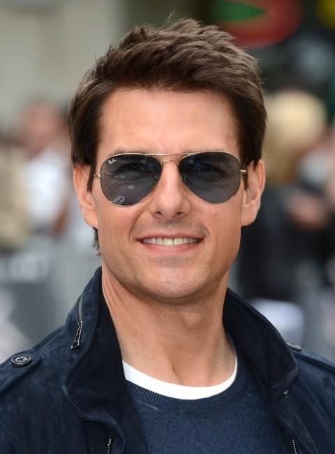 Tom Cruise lors de la première de Rock of Ages à Londres, le 10 juin 2012.