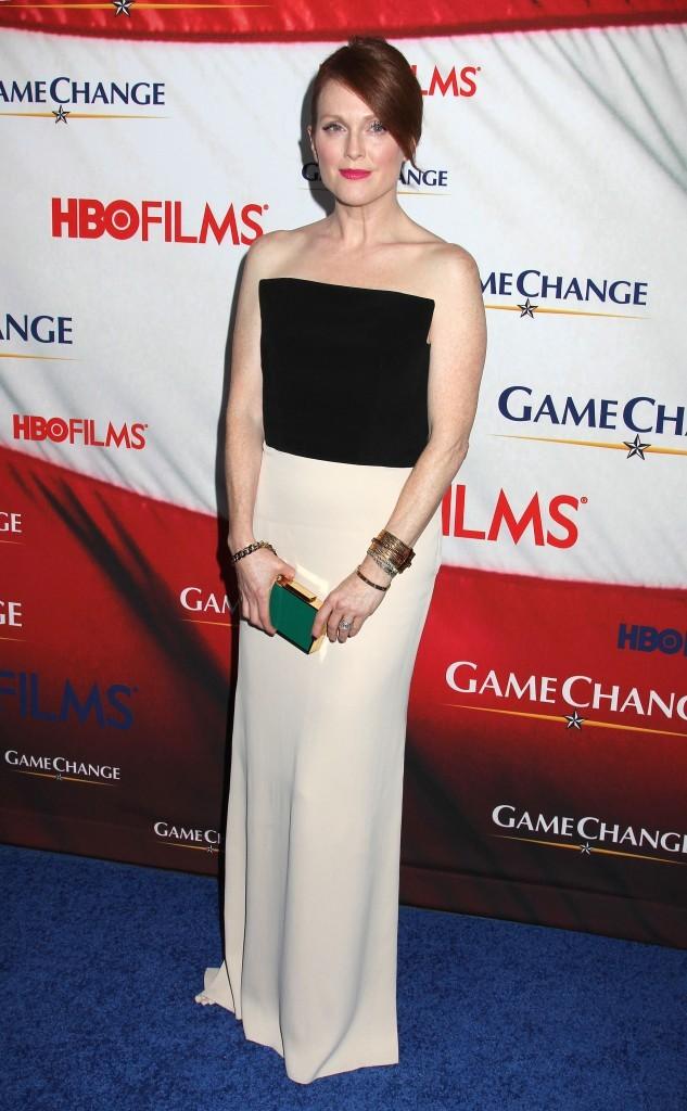 Julianne Moore lors de la première du téléfilm Game Change à New York, le 7 mars 2012.