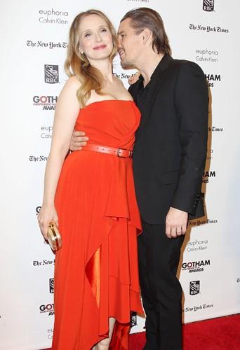 Julie Delpy et Ethan Hawke à New-York le 2 décembre 2013