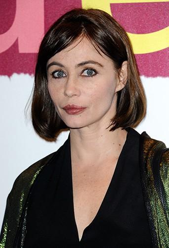 Emmanuelle Béart à Paris le 31 mars 2014