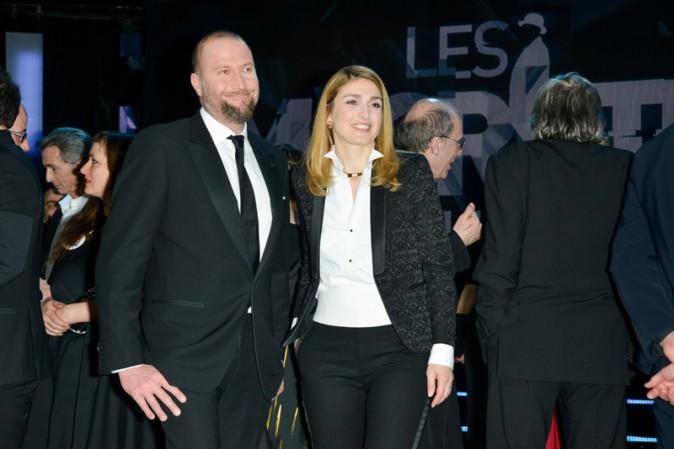 Julie Gayet à Bruxelles le 7 février 2015