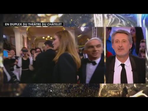 Photos : Julie Gayet : finalement elle assiste bien à la cérémonie des César !