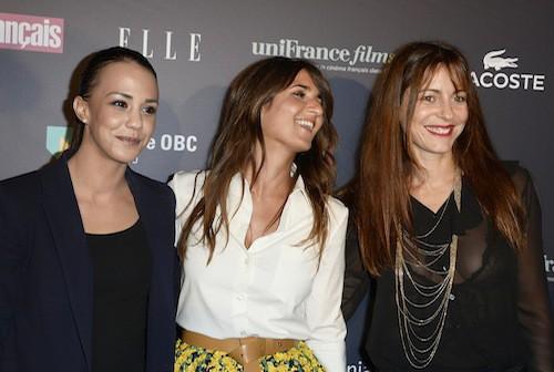 Alice Belaïdi, Géraldine Nakache et Audrey Dana aux Trophées du Film Français à Paris, le 12 février 2015