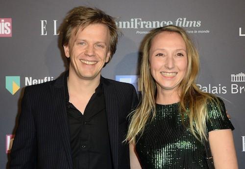 Audrey Lamy et Alex Lutz aux Trophées du Film Français à Paris, le 12 février 2015
