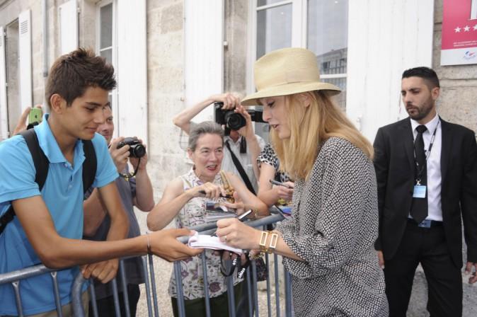 Julie gayet au festival d'Angoulême