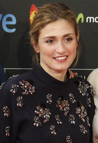 Julie Gayet à Saint-Sébastien le 23 septembre 2014