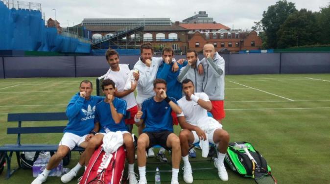 L'équipe de France de tennis