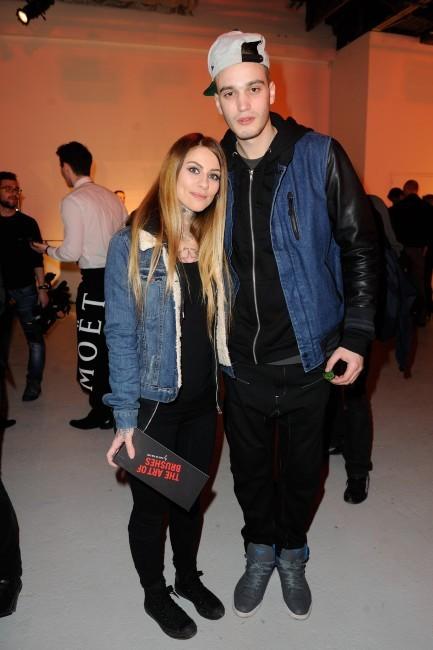 Fanny et Julien le 31 janvier 2013 à Paris