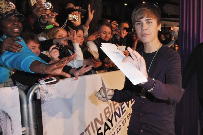 A votre avis, ça peut valoir combien un autographe de Justin ?