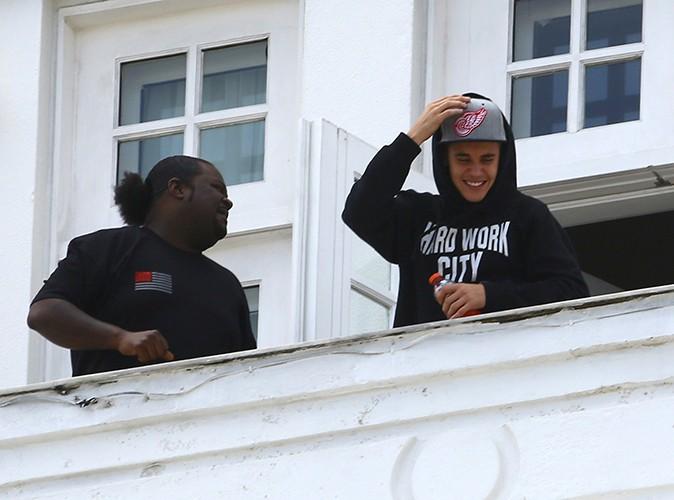 Justin Bieber à Rio de Janeiro le 1er novembre 2013