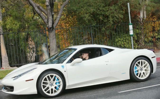 Justin Bieber et Selena Gomez à Los Angeles le 3 décembre 2012