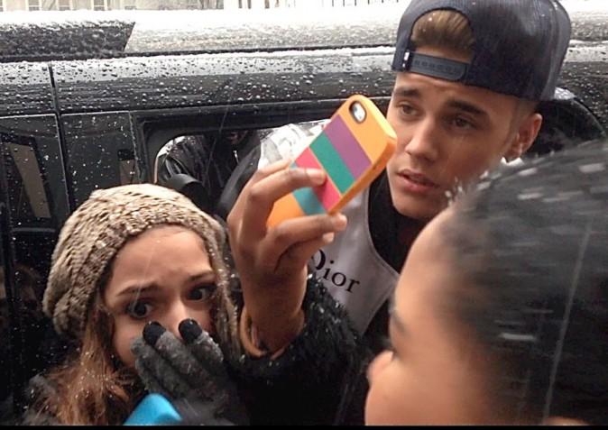 Justin Bieber à New-York le 3 février 2014