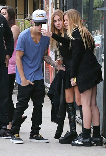 Justin Bieber à Los Angeles le 16 novembre 2013
