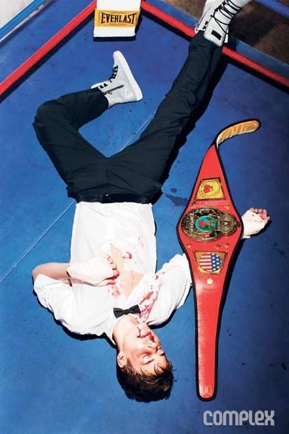 Justin est mort mais il a la ceinture !