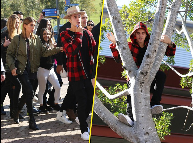Justin Bieber et Hailey Baldwin, le 2 juillet 2015
