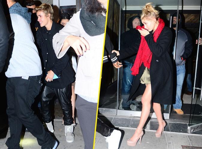 Photos : Justin Bieber et Hailey Baldwin : surpris ensemble à la sortie d'un club !