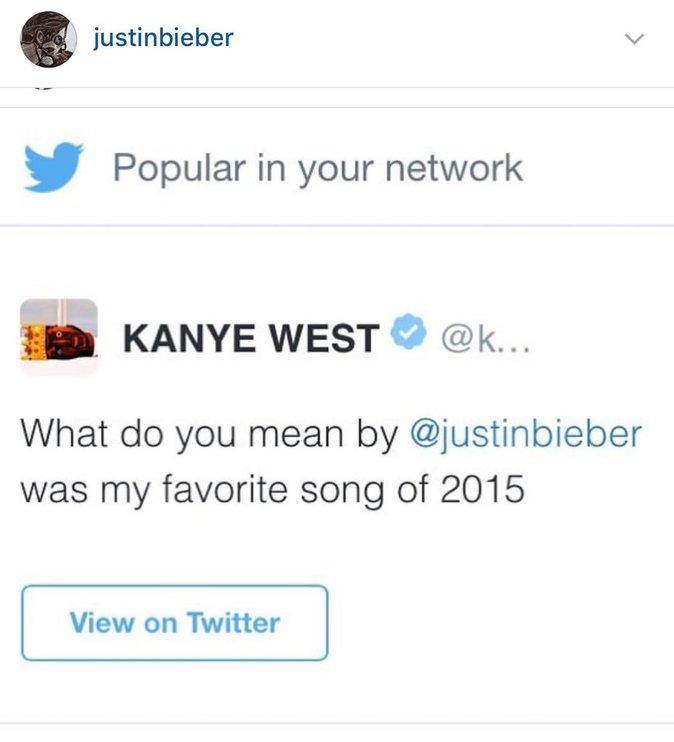 Le message de Kanye West