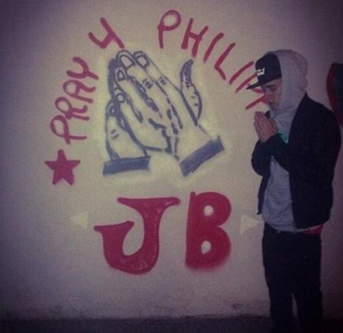 Justin Bieber et son tag