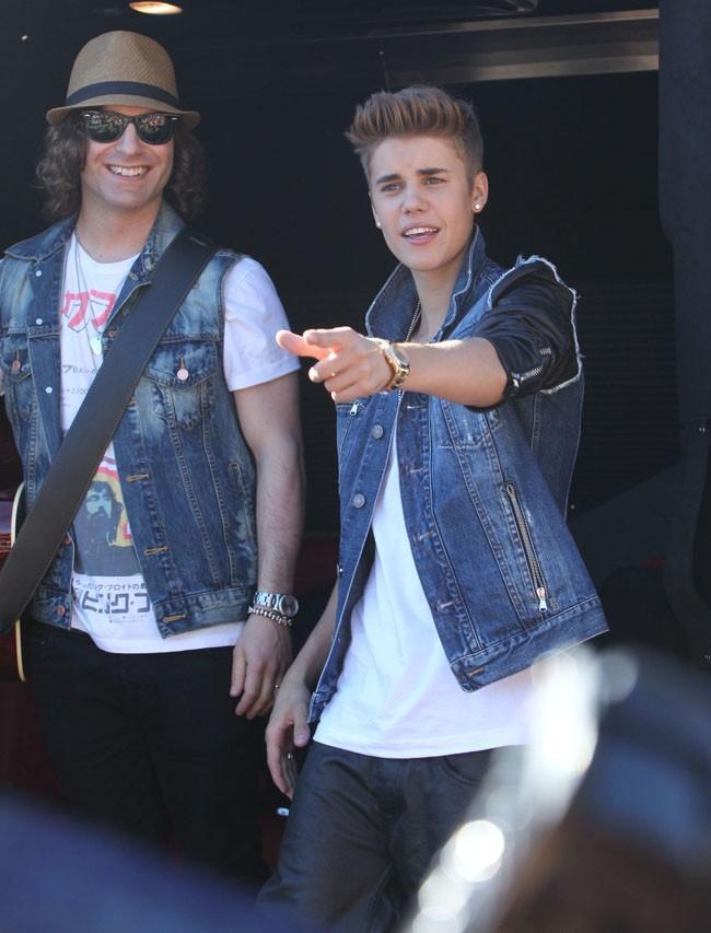 Justin Bieber le 27 juin 2012 à Los Angeles