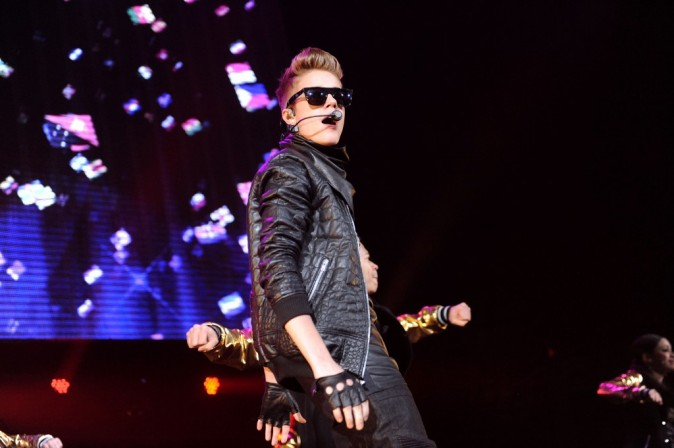 Justin Bieber au Washington DC Jingle Ball le 11 décembre 2012