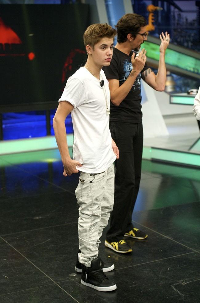 Justin Bieber le 4 juin 2012 à Madrid