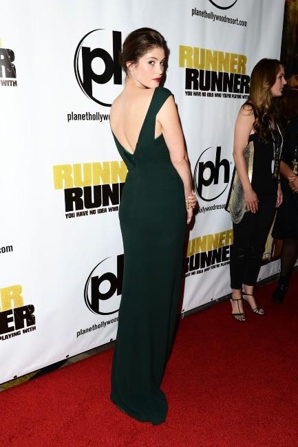 Gemma Arterton lors de la première du film Players à Las Vegas, le 18 septembre 2013.