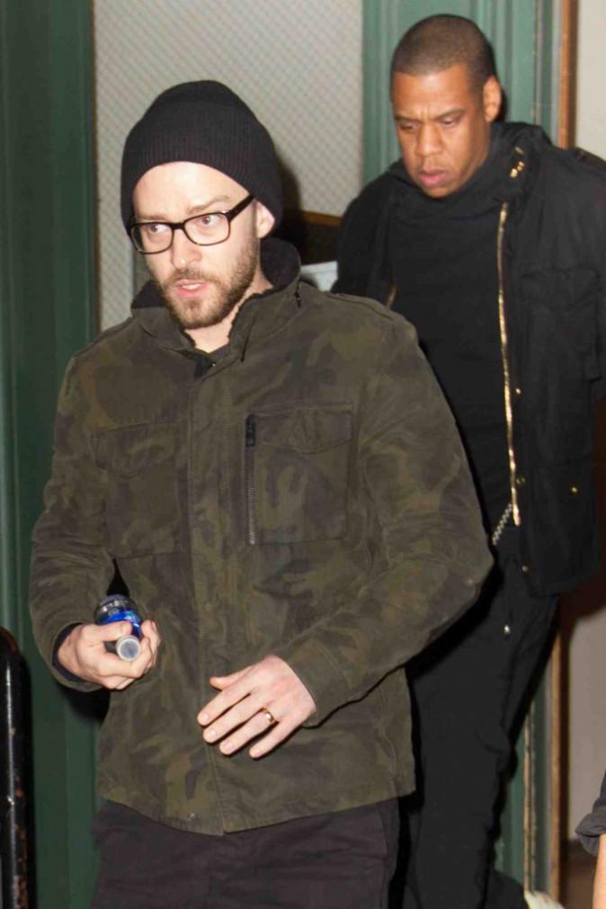 Justin Timberlake et Jay Z : aperçus en sortant de chez Taylor Swift !
