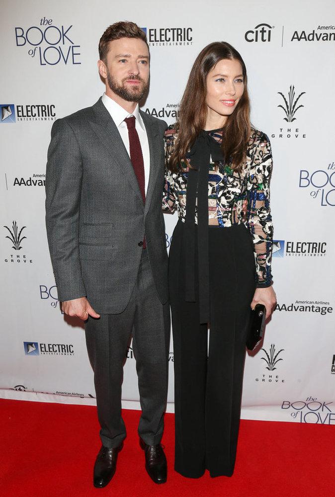 Photos : Justin Timberlake et Jessica Biel : ils ont encore fait garder Silas !