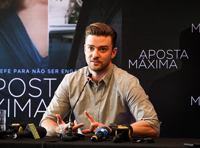 Justin Timberlake à Rio de Janeiro le 14 septembre 2013
