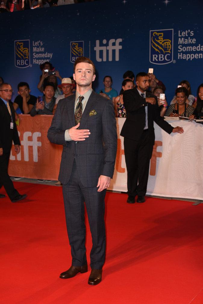 Justin Timberlake a misé sur le costume pour la première du film Justin Timberlake + Tennessee Kids