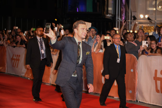 Justin Timberlake s'est rendu à la première du film Justin Timberlake + Tennessee Kids