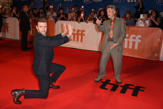 Justin Timberlake sait faire le show