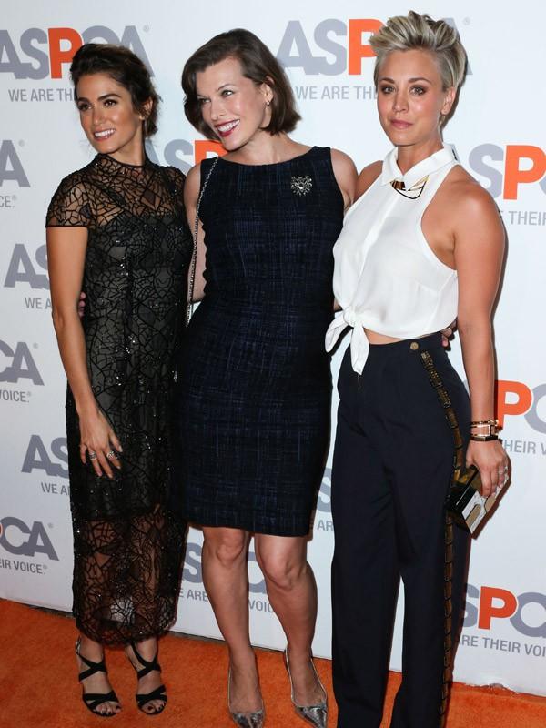 Nikki Reed, Milla Jovovich et Kaley Cuoco