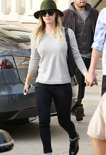 Kaley Cuoco à Los Angeles le 3 janvier 2014