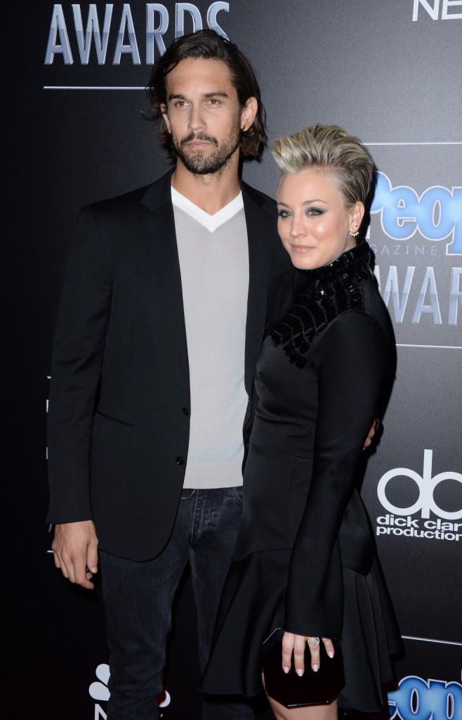 Kaley Cuoco et Ryan Sweeting à Los Angeles le 18 décembre 2014