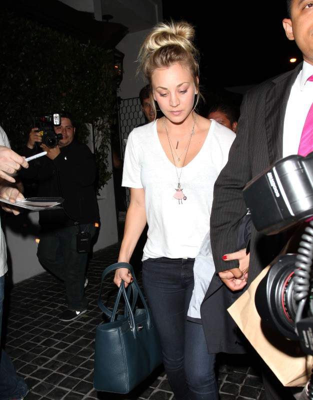 Kaley Cuoco à West Hollywood, le 10 juillet 2013.