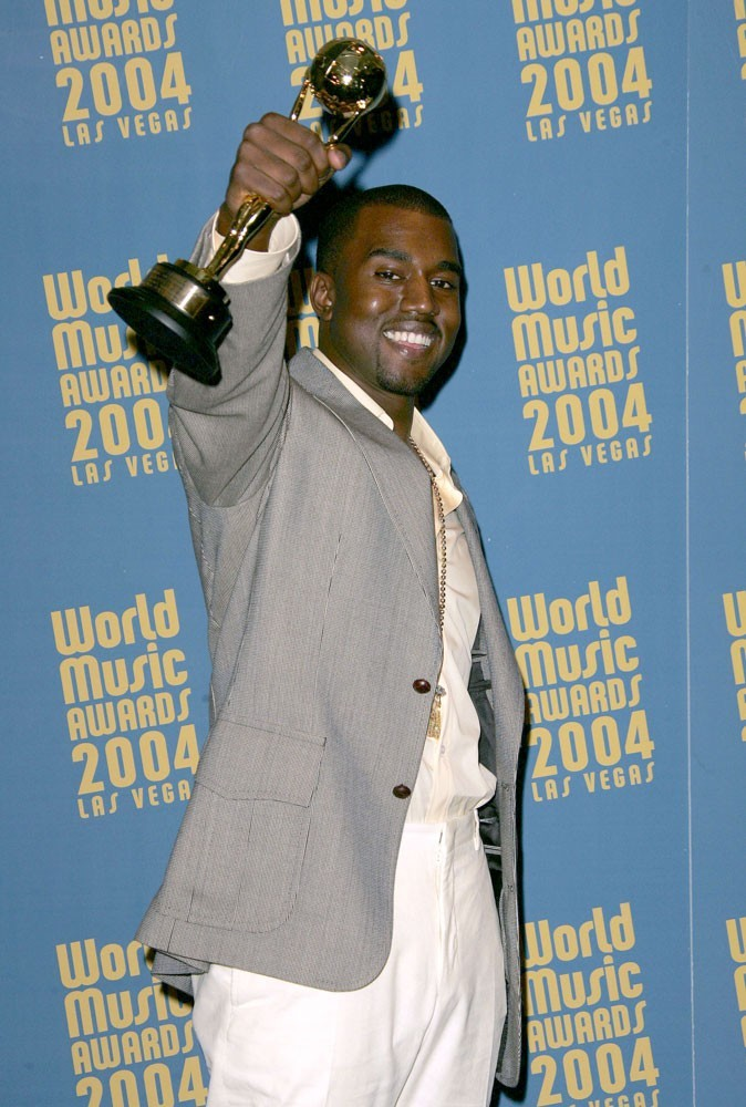 Photos : Kanye West en 2004