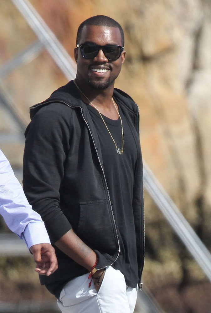 Photos : Kanye West en 2010