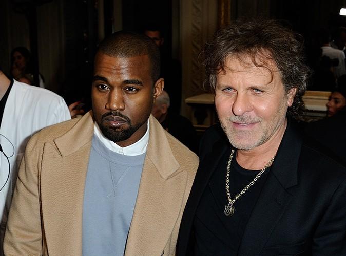 Kanye West et Renzo Rosso à Paris le 28 février 2014