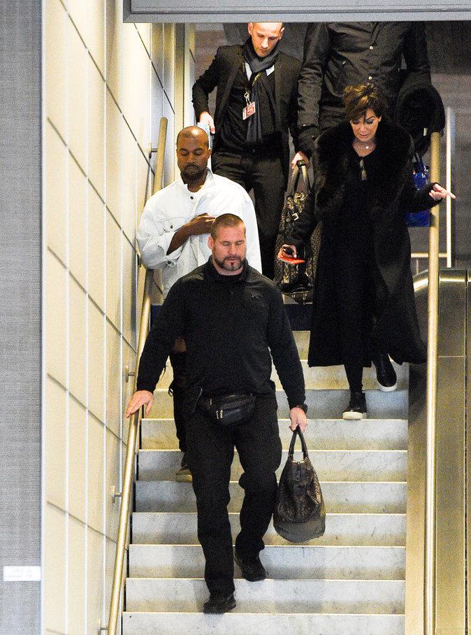 Kanye West et Kris Jenner