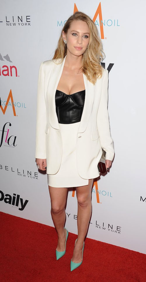 Dylan Penn lors des Fashion Los Angeles Awards le 22 janvier 2015 !